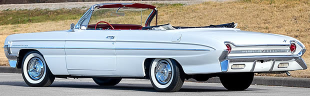 1961 Oldsmobile 88 Convertible Rear
