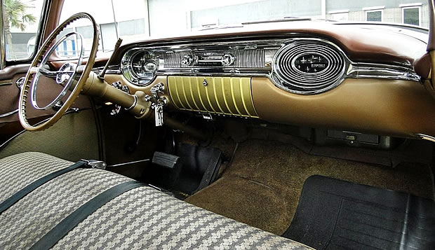 1956 Oldsmobile Eighty-Eight Interior Shot