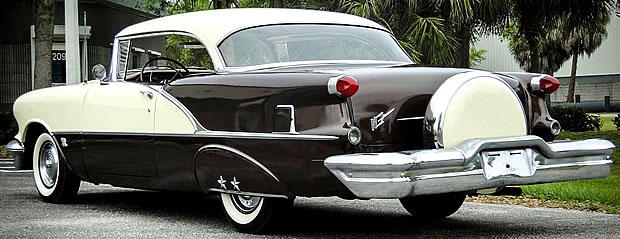 1956 Oldsmobile 88 Holiday Rear