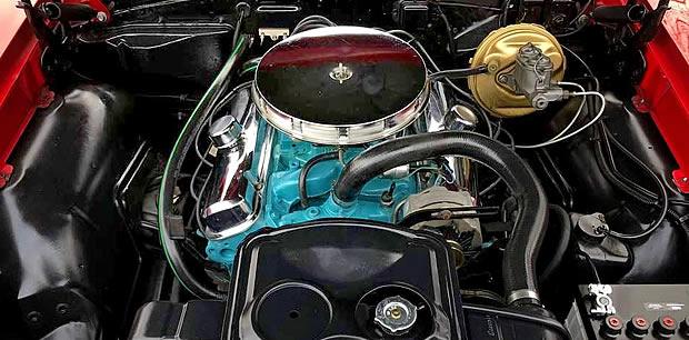 1967 GTO Engine - 400 cubic inch V8