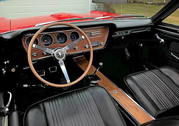 1967 Pontiac GTO Convertible Interior
