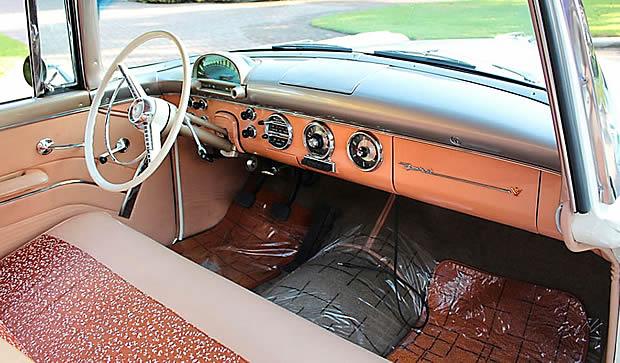 1955 Ford Fairlane Interior