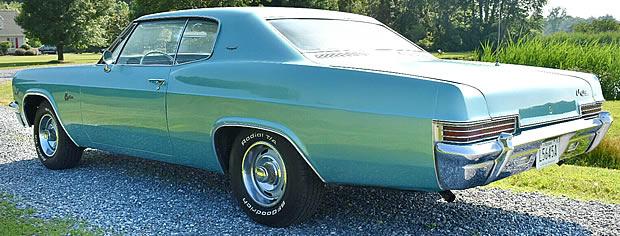 1966 Chevrolet Caprice Rear