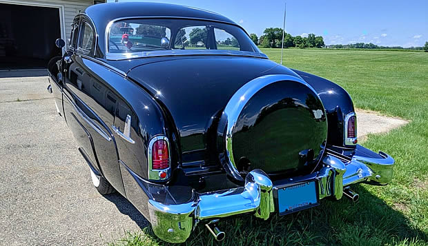 1951 Mercury Sport Coupe - side view