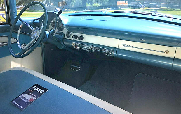 1956 Ford Fairlane Victoria Interior