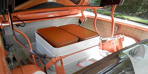 1957 Skyliner luggage