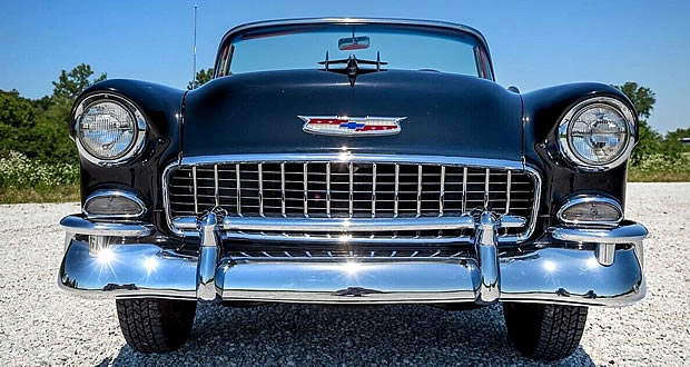 55 Chevy Convertible Front