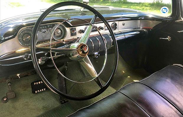 1955 Buick Century Instrument panel