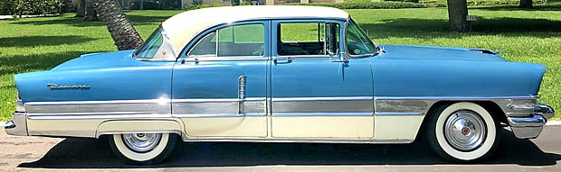 1956 Packard Patrician side view