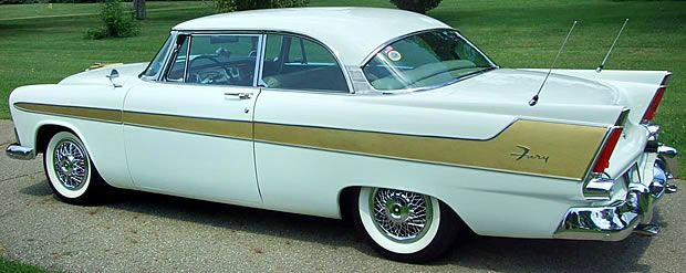 1956 Plymouth Fury - Side / Rear