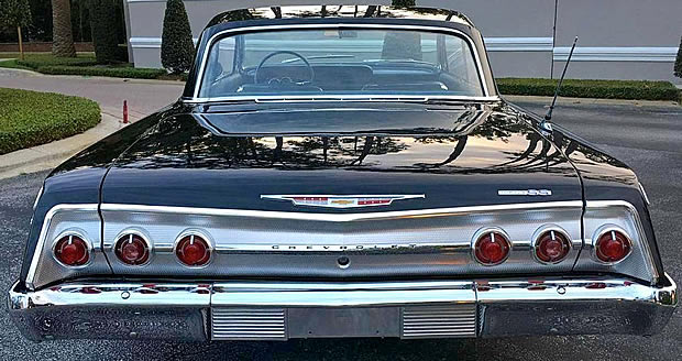 Impala Rear View - Triple Taillights