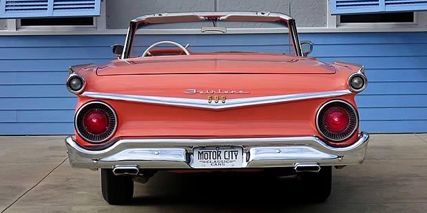1959 Ford Galaxie Skyliner rear