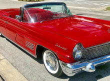 1960 Lincoln Continental Mark V Convertible