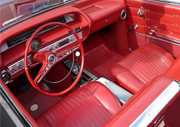 1963 Chevrolet Impala SS Convertible Interior
