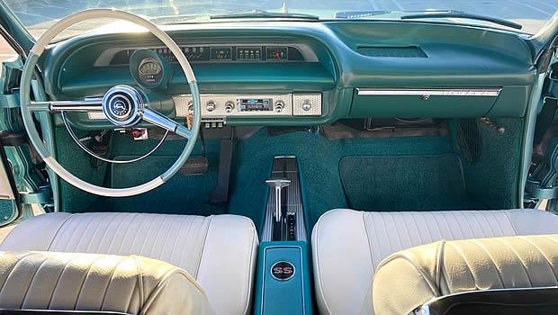 1964 Chevy Impala SS Convertible Interior