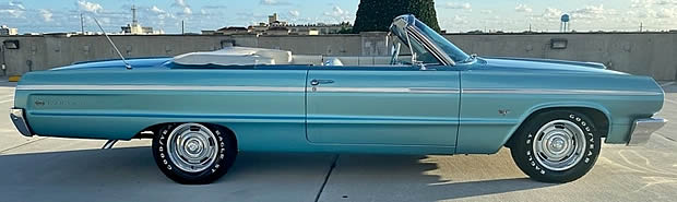 1964 Chevy Impala SS Convertible - Side View