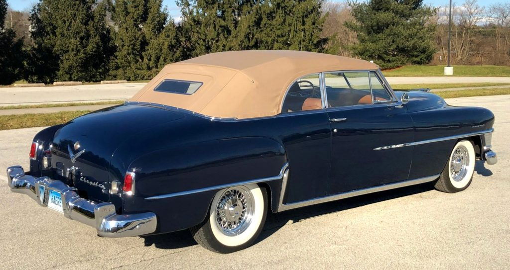 1951 Chrysler New Yorker Rear View