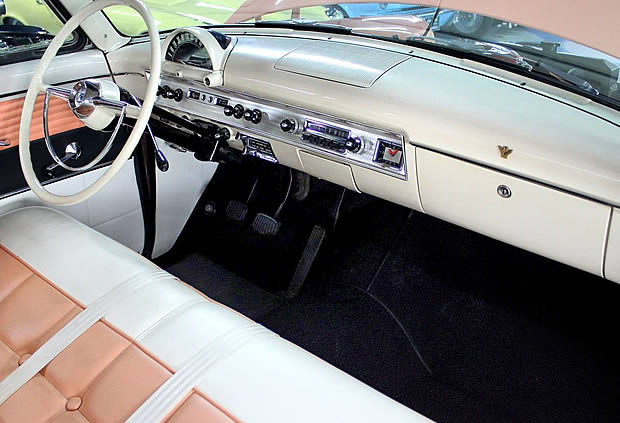 1954 Ford Crestline interior