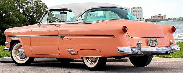 1954 Ford Crestline Victoria Rear