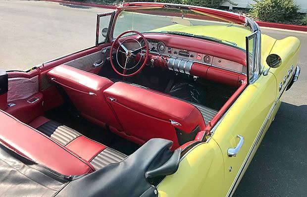 1955 Buick Century Interior
