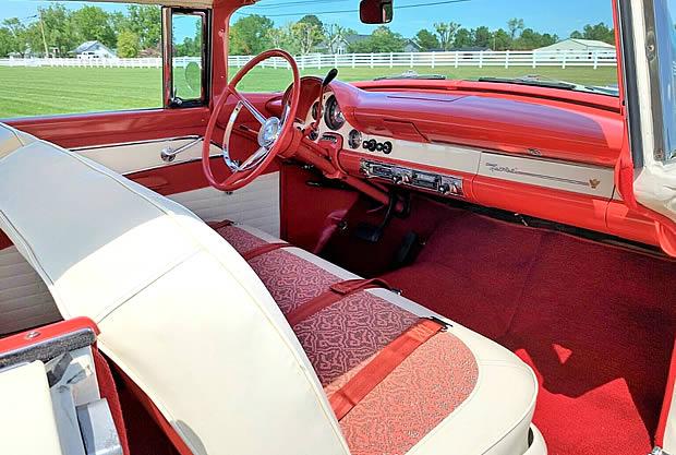 1956 Ford Fairlane Victoria Interior