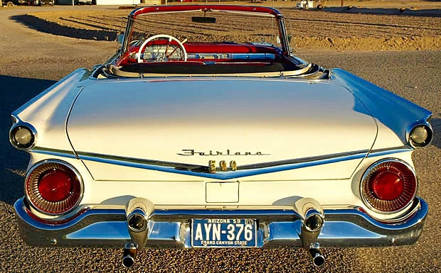 1959 Ford Galaxie Sunliner - Rear View