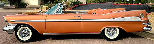 1959 Plymouth Fury Convertible Side View