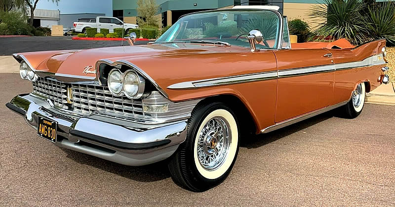 1959 Plymouth Sport Fury Convertible