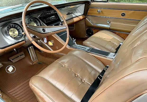 63 Buick Riviera Interior
