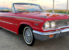 1963 Ford Galaxie 500XL Convertible