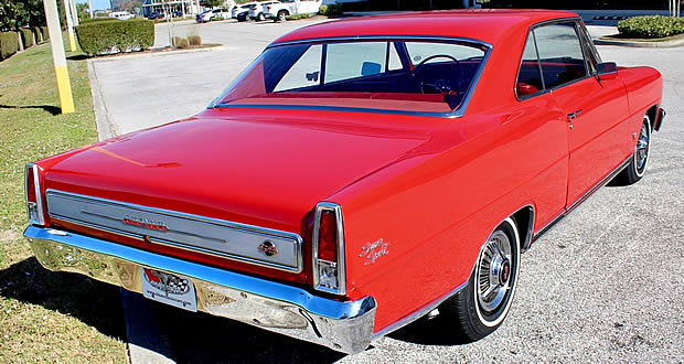 1966 Chevy Nova SS - Rear