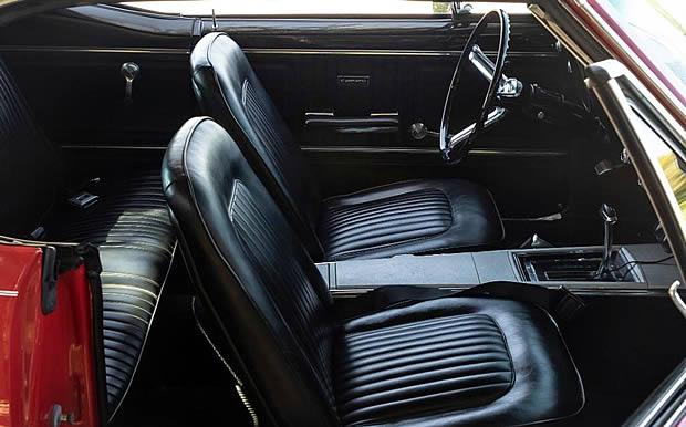 1967 Chevrolet Camaro SS Interior