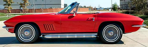 1967 Chevy Corvette - Side View