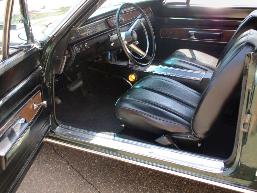 68 Plymouth GTX Interior
