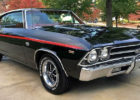 A stunning 69 Chevy Chevelle SS 396