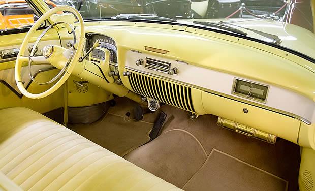 1953 Cadillac de Ville interior