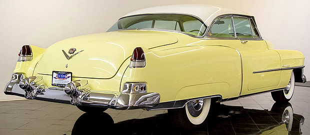1953 Cadillac Coupe DeVille - side / rear view