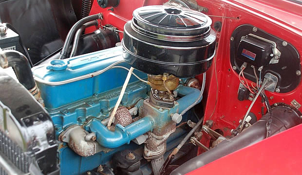 1954 Chevy Blue Flame Six - 235