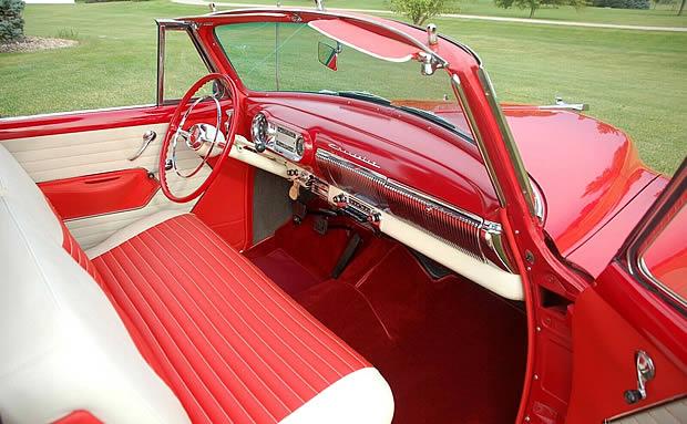 1954 Chevrolet Bel Air Convertible Interior