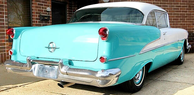1955 Oldsmobile Holiday Hardtop Rear