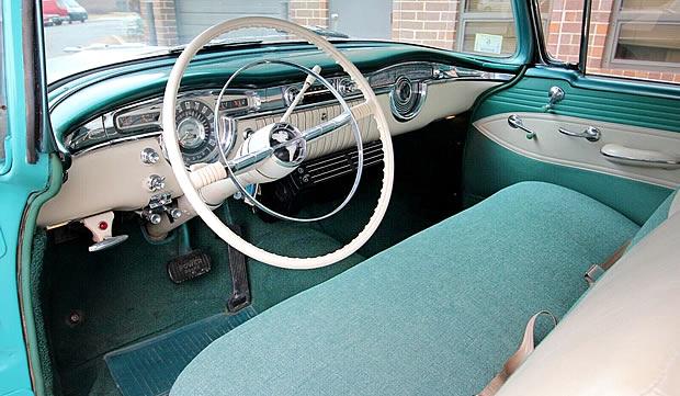 1955 Oldsmobile 88 Interior