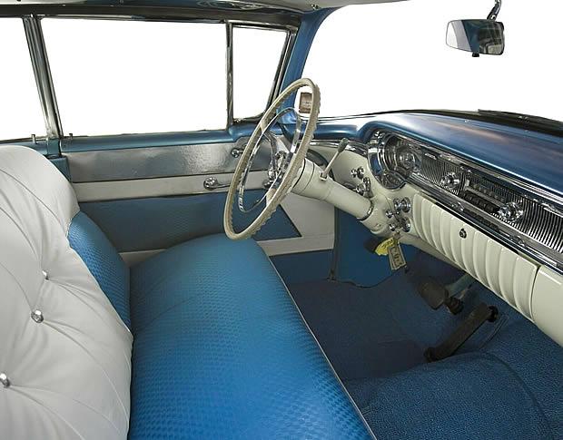1956 Oldsmobile Eighty-Eight Interior Shot