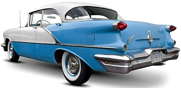 1956 Oldsmobile 88 Rear