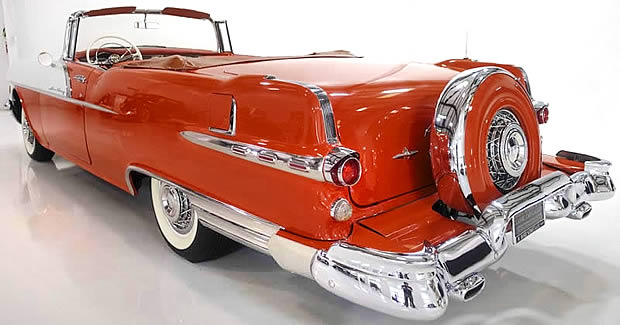 1956 Pontiac Star Chief Convertible rear view