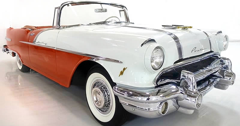 1956 Pontiac Star Chief Convertible