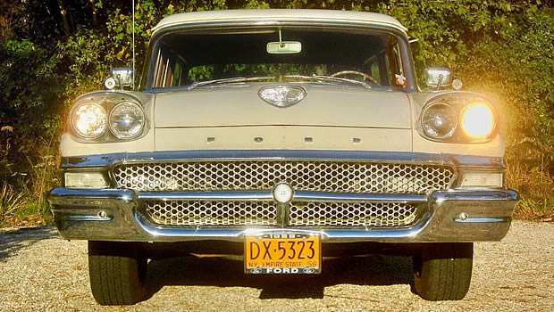 1958 Ford front view