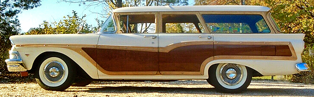 58 Ford Country Squire Side View