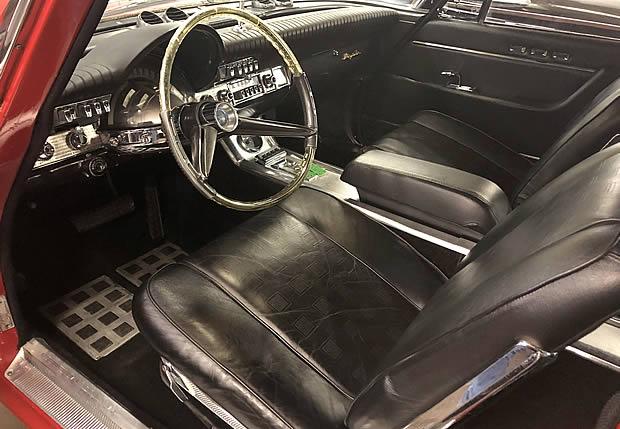 1961 Chrysler 300G interior