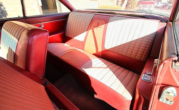Interior of 1961 Oldsmobile Dynamic 88