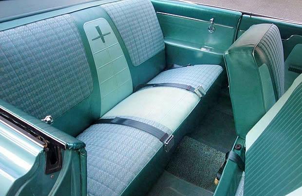 61 Oldsmobile Dynamic 88 Interior